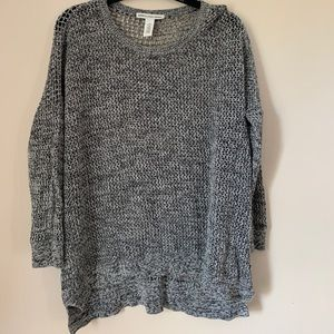 COTTON BY AUTUMN CASHMERE SKULL KNIT SWEATER